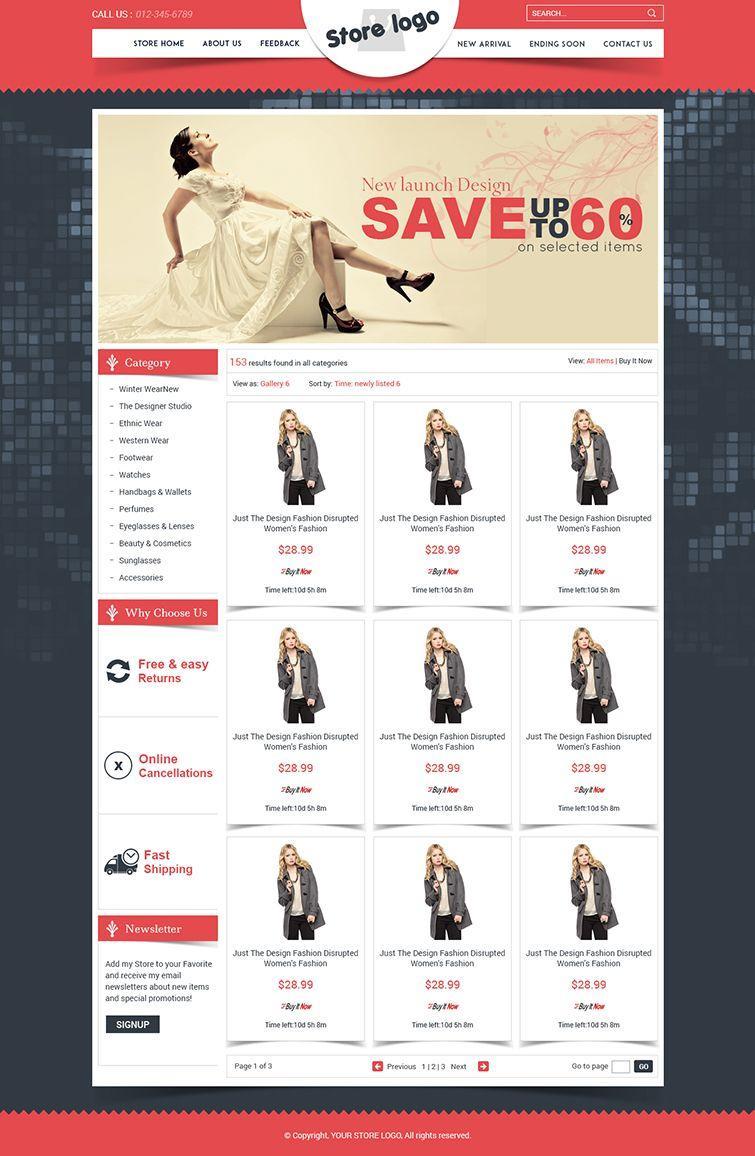 Ebay Store Html Templates Free