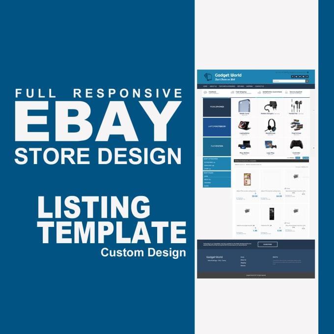 Ebay Store Template Freelance