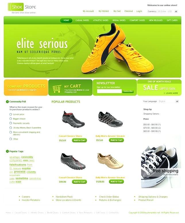 Ecommerce Css Templates Free Download