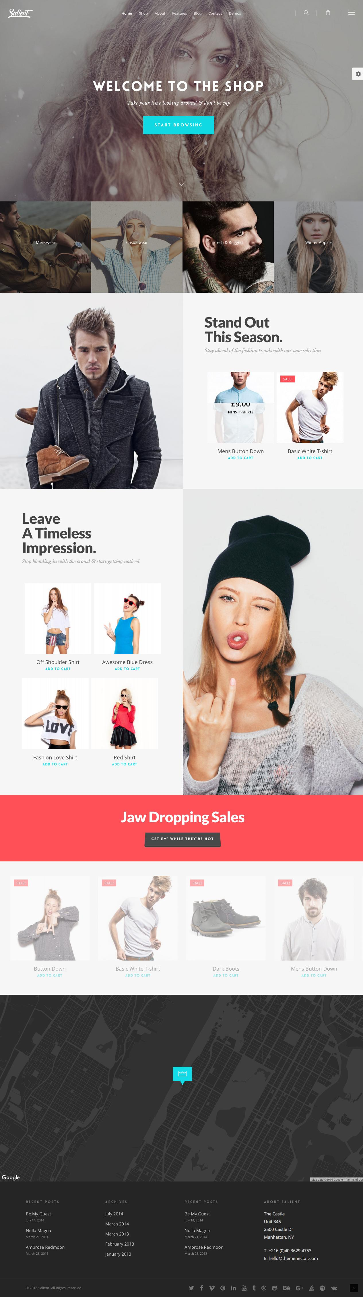 Ecommerce Template WordPress Themeforest