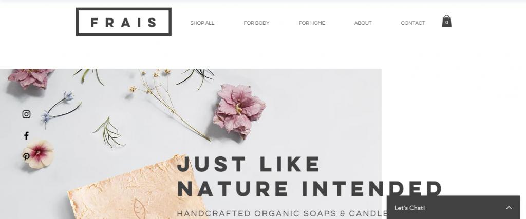 Ecommerce Website Templates Wix