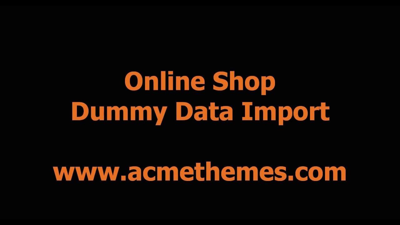 Ecommerce WordPress Theme Demo
