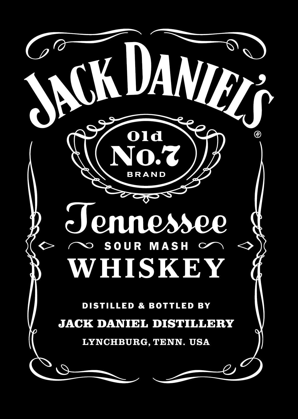 Edible Jack Daniels Label Template Download