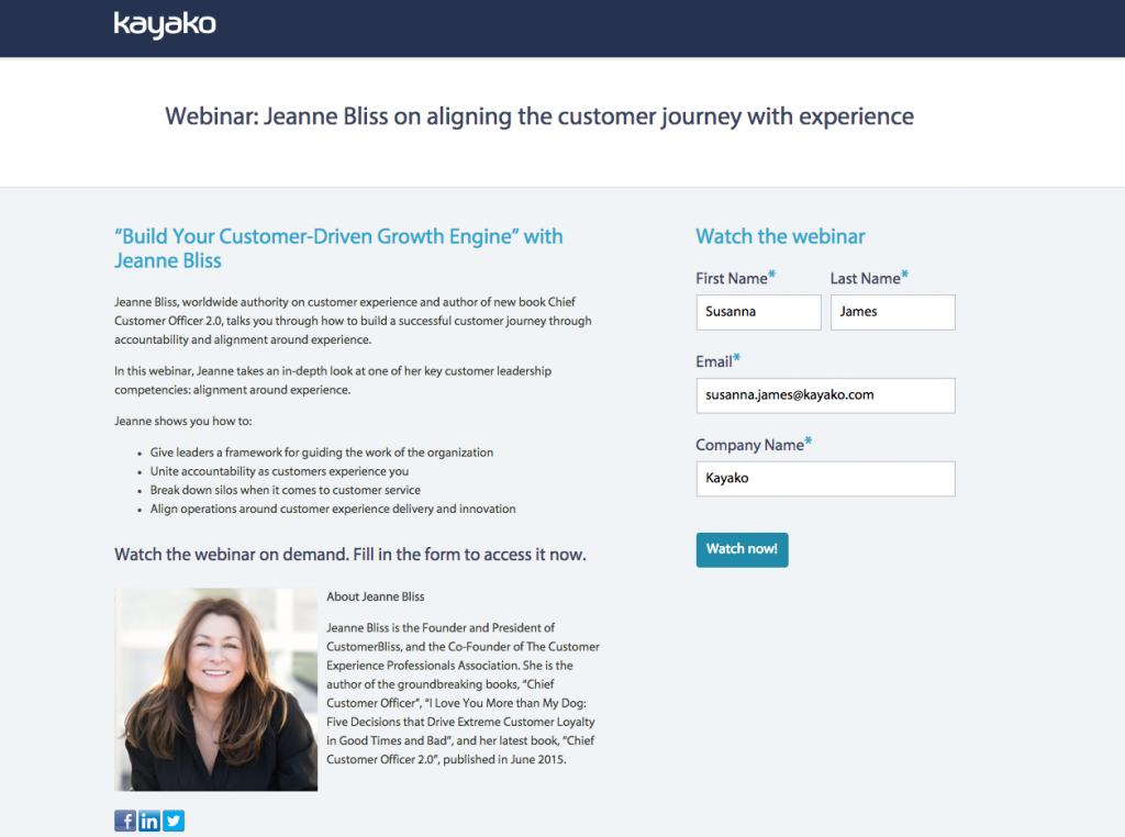 Edit Hubspot Landing Page Template