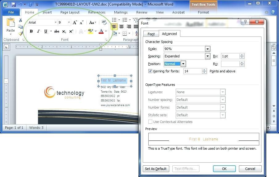 Edit Microsoft Word Template Macro