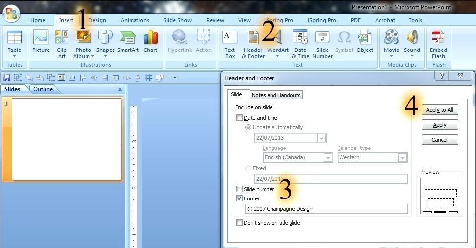 Edit Slide Template Powerpoint 2010