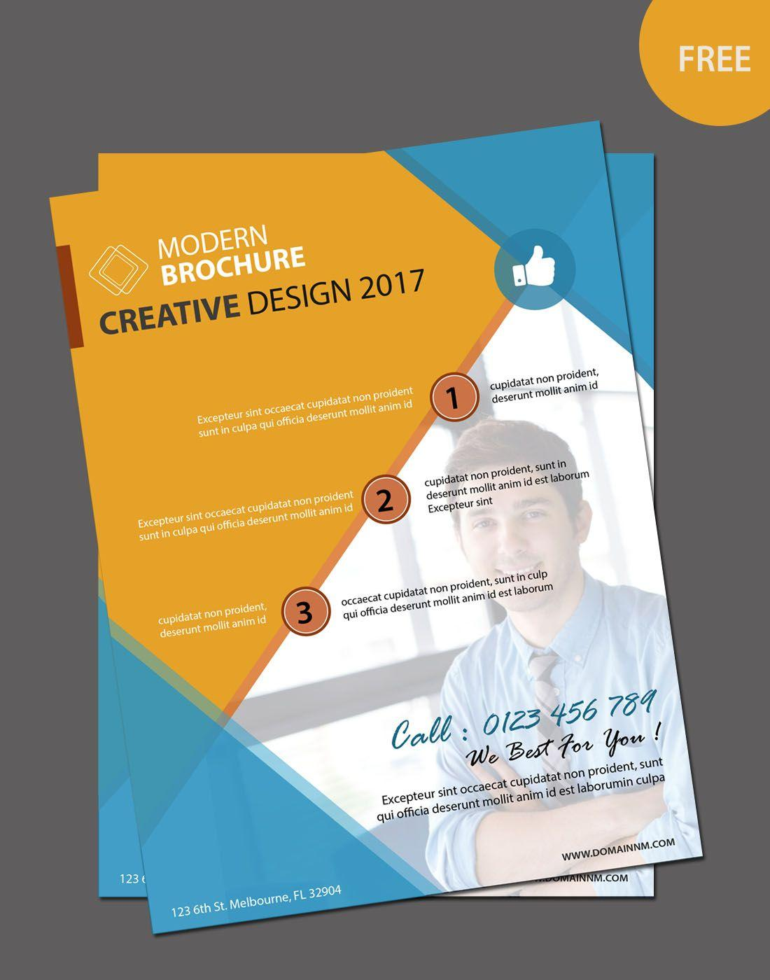 Editable Brochure Templates Free