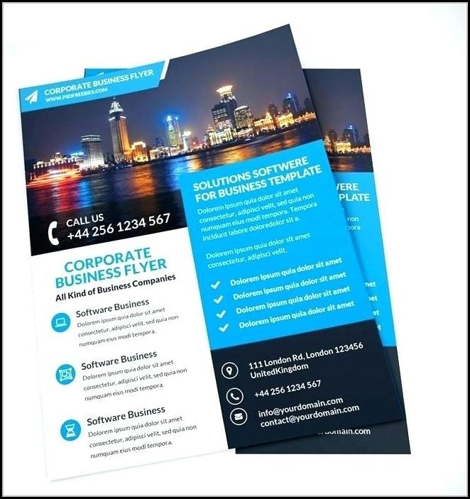 Editable Flyer Templates Online Free