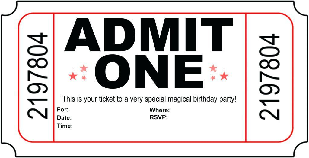 Editable Free 40th Birthday Invitations Templates