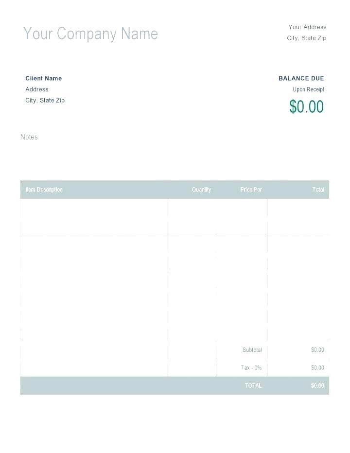 Editable Printable Receipt Template