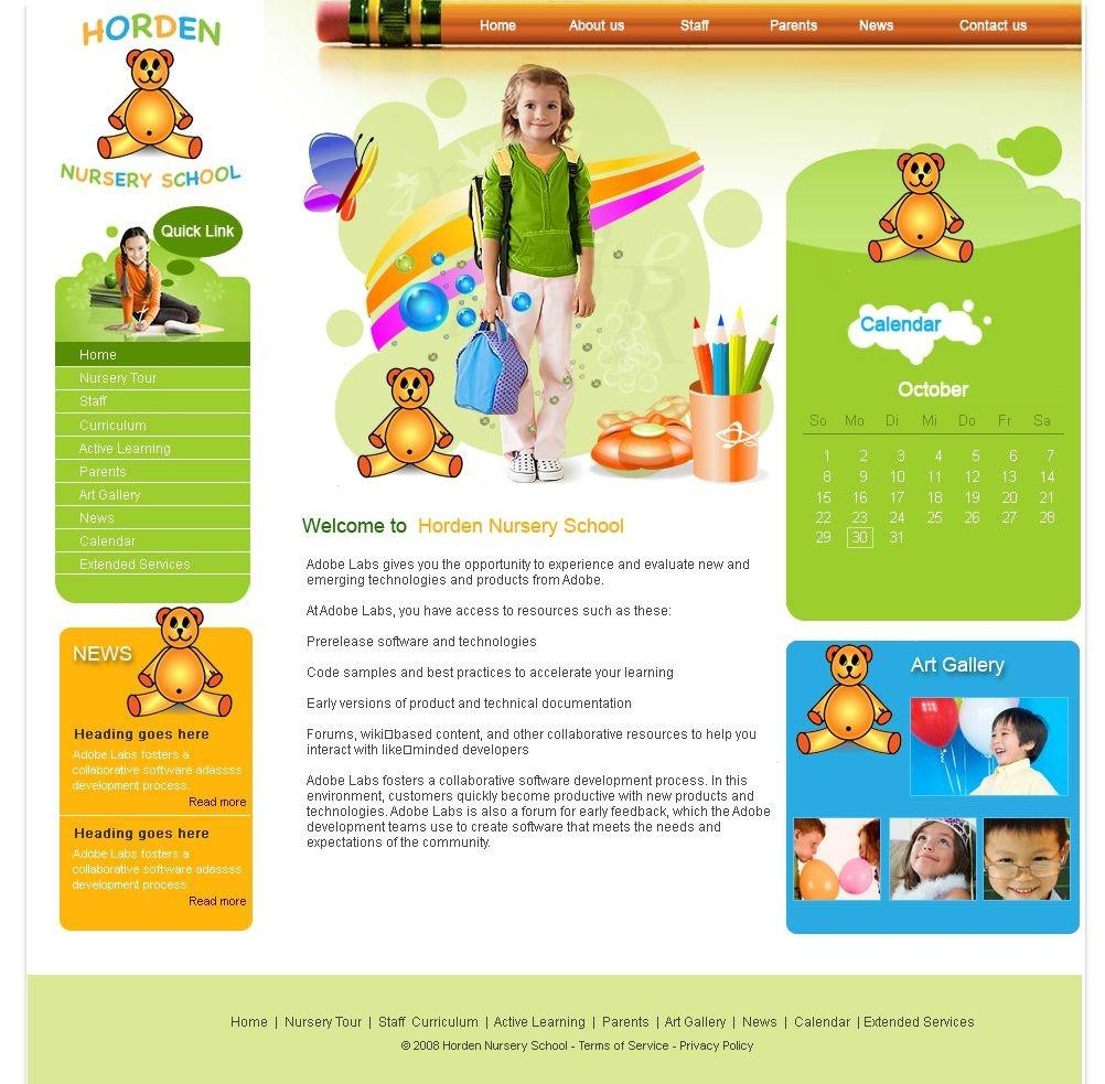 Educational Websites Responsive Templates Free Download