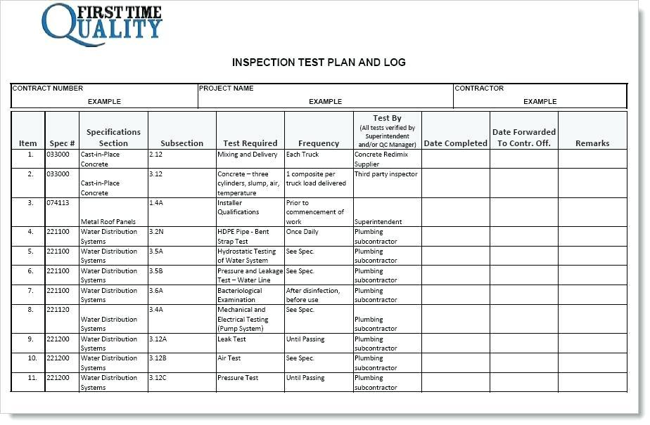 Electric Forklift Daily Inspection Checklist Template