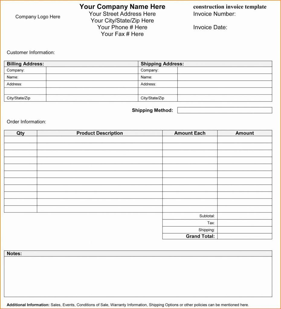 Electrical Estimate Templates Free