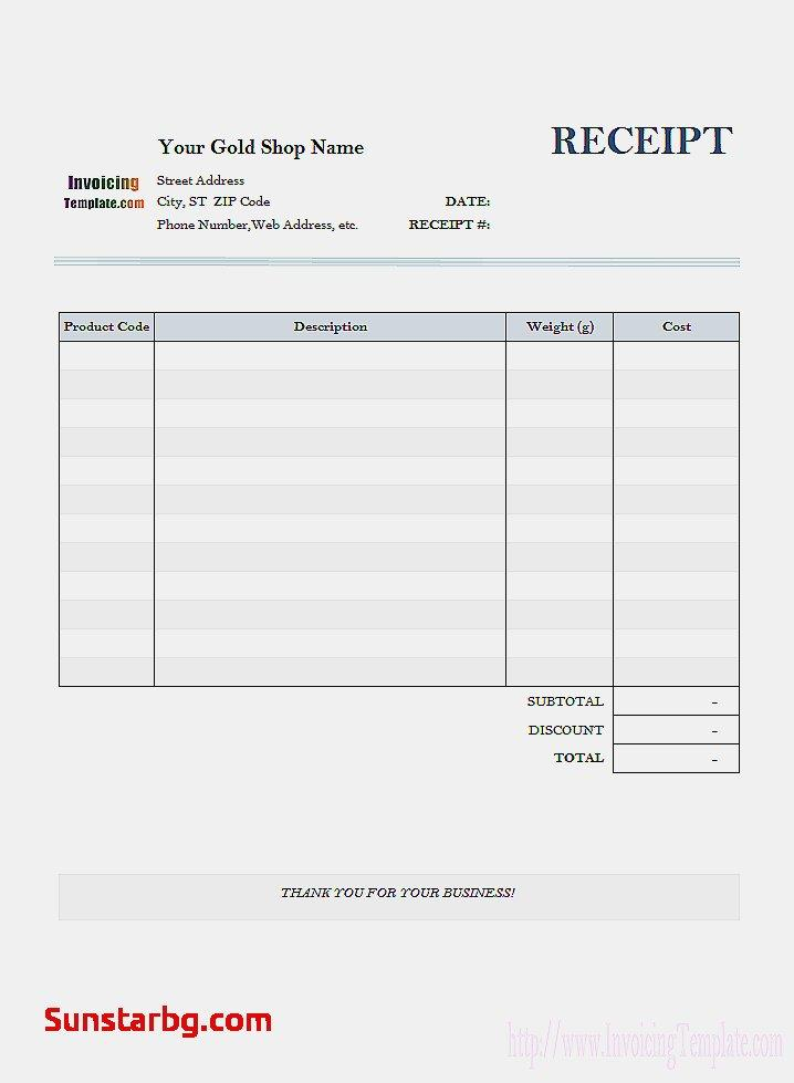 Electrical Shop Invoice Template