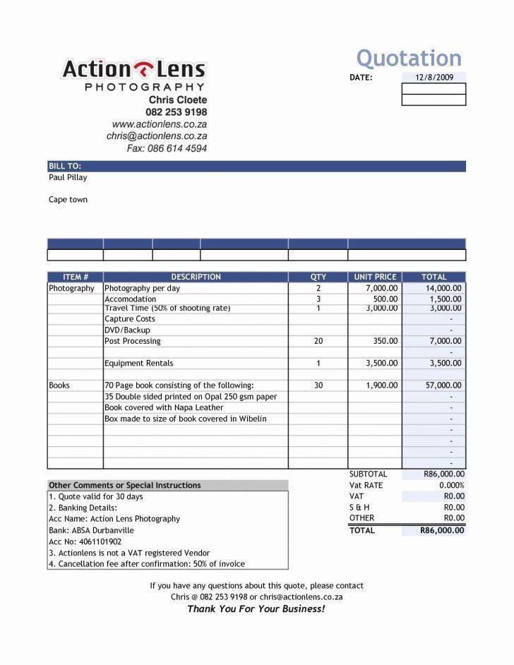 Electrician Invoice Template Pdf