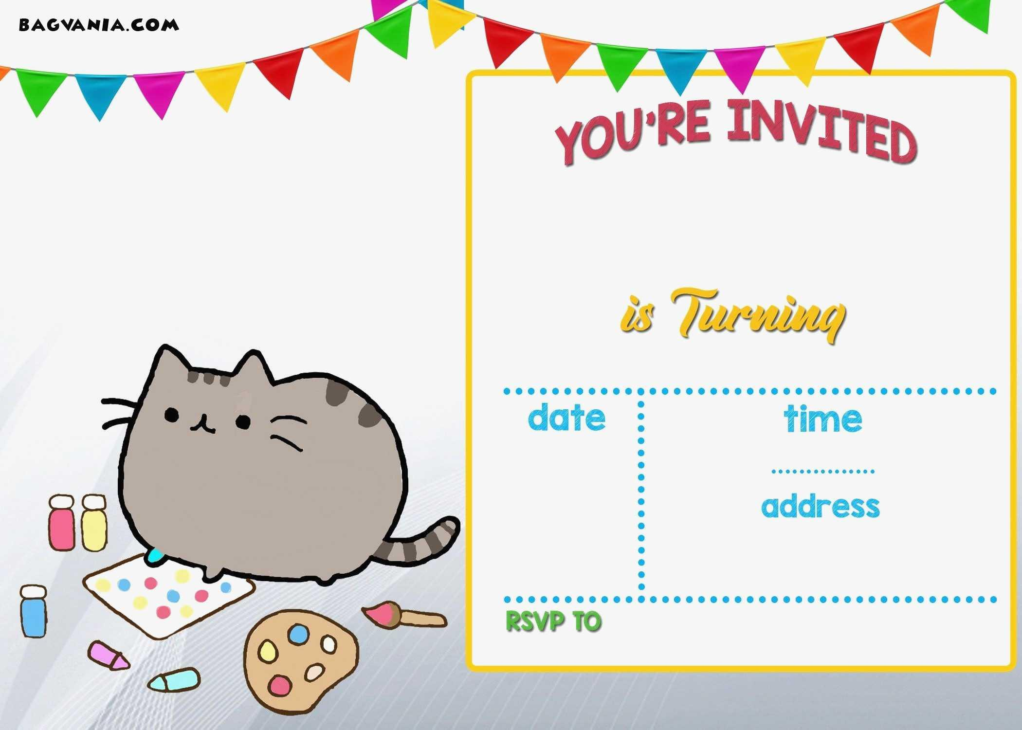 Electronic Birthday Invitations Templates Free