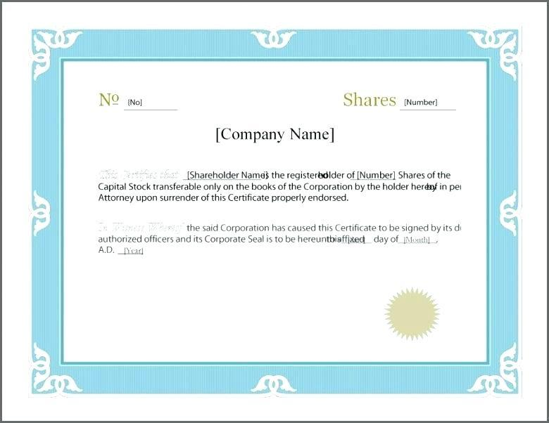 Electronic Corporate Seal Template