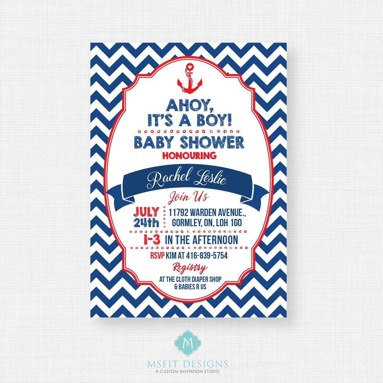 Elephant Baby Shower Invitations Boy Templates