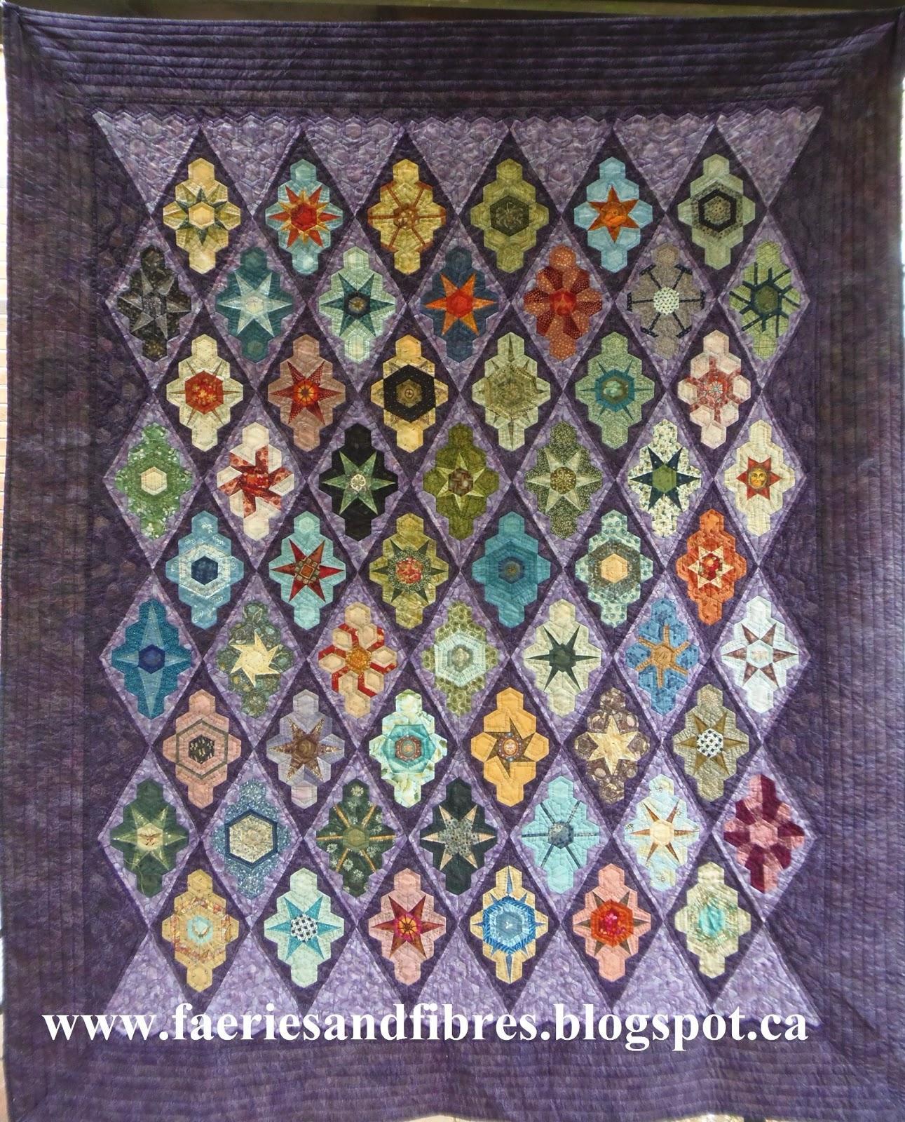 Elongated Hexagon Quilt Template