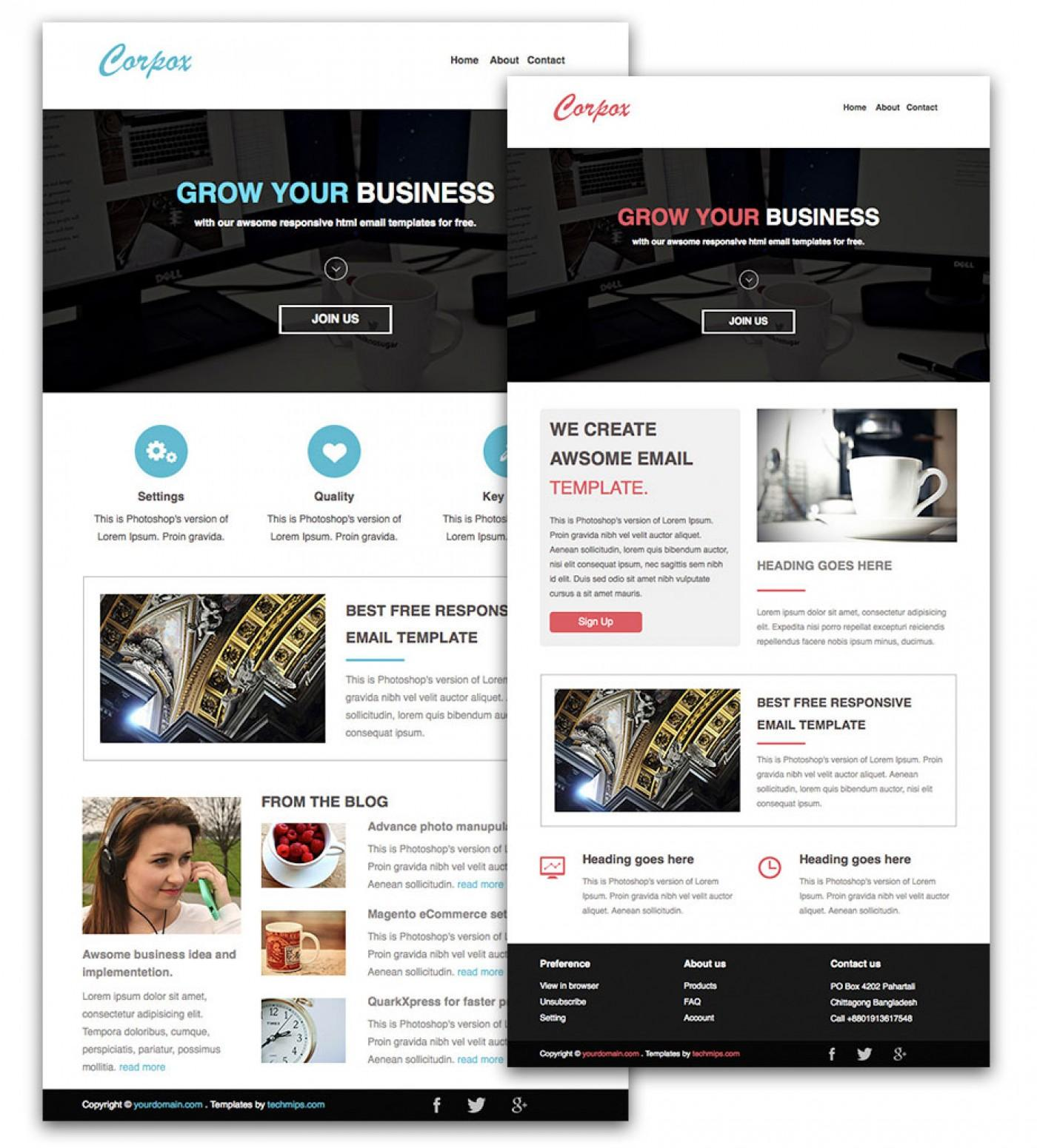 Email Newsletter Templates Free Microsoft