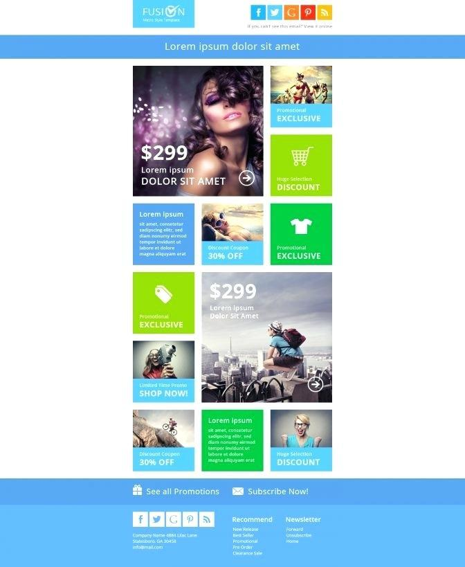 Email Newsletter Templates Word Free