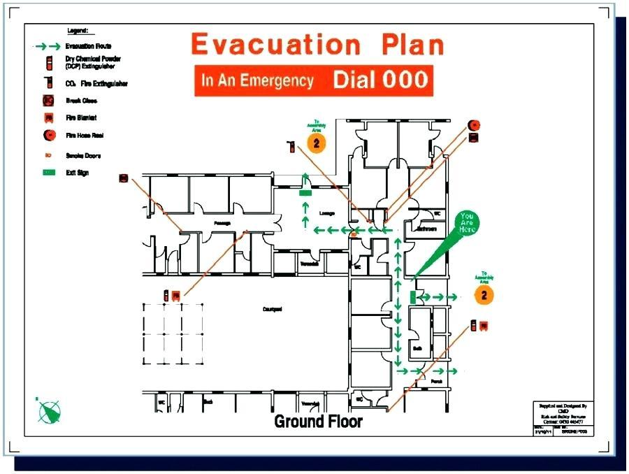 Emergency Evacuation Plan Example