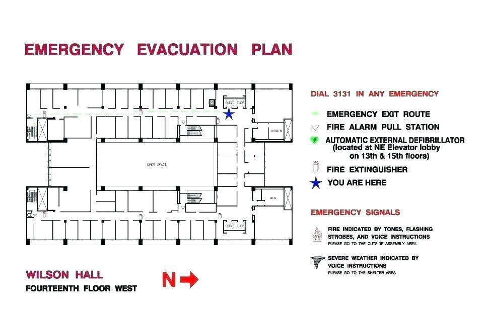 Emergency Evacuation Plan Template Victoria