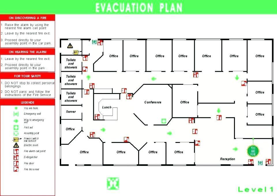 Emergency Exit Plan Example