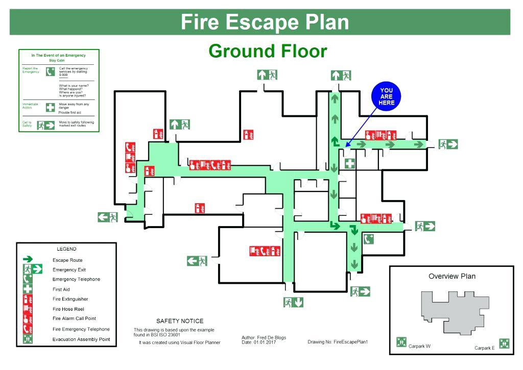 Emergency Exit Plan Template