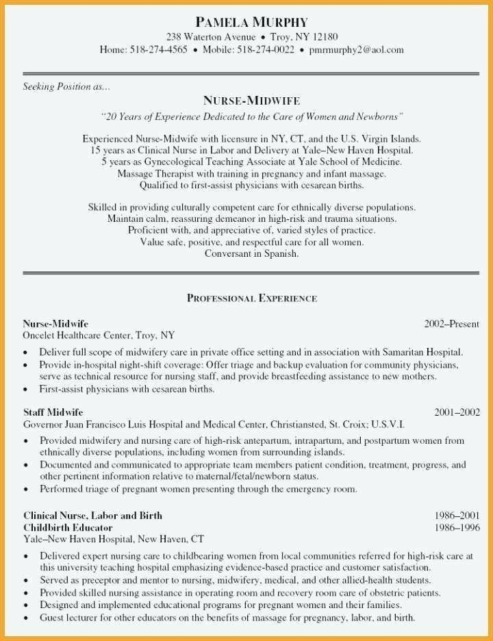Emergency Medicine Physician Cv Template