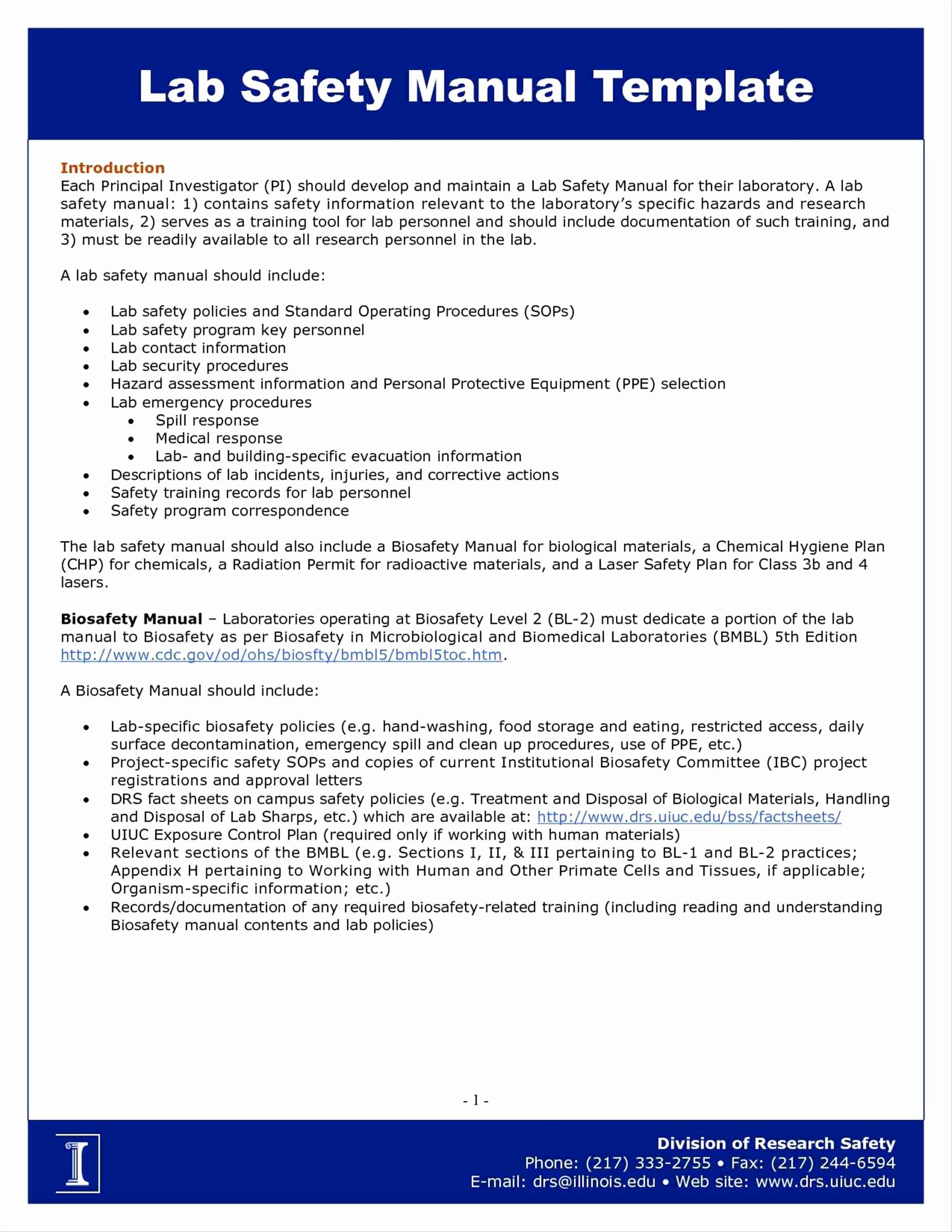 Emergency Preparedness And Response Plan Example