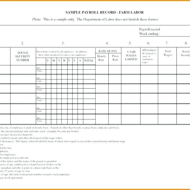 Employee Attendance Record Forms