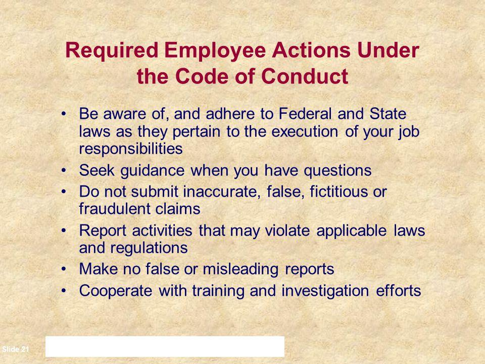 Employee Code Of Conduct Sample Philippines
