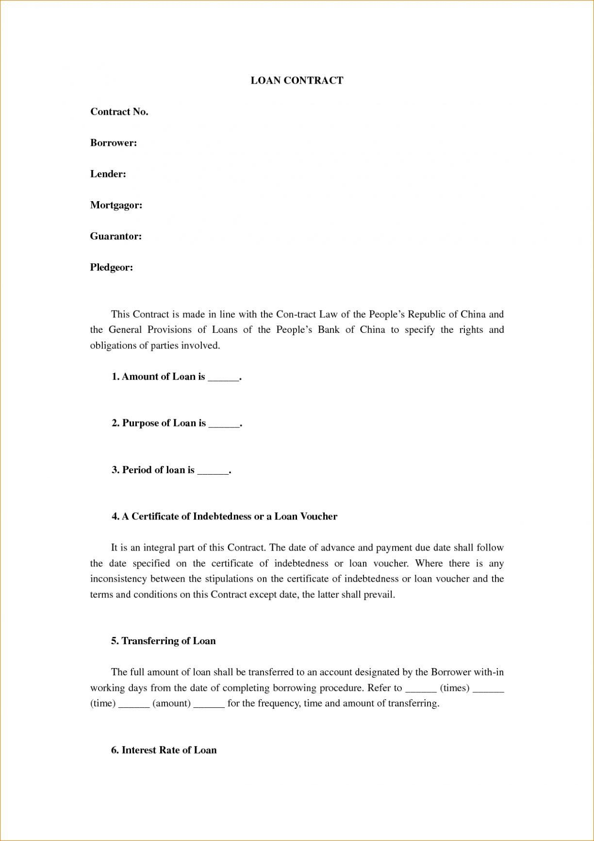 Employee Contract Templates South Africa