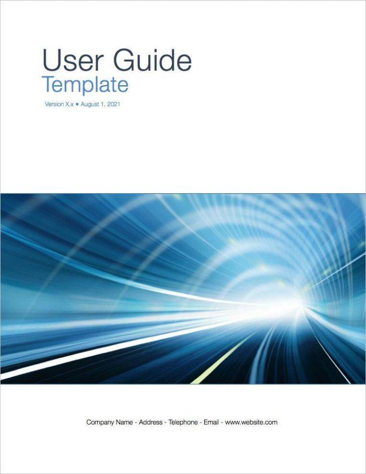Employee Handbook Cover Template