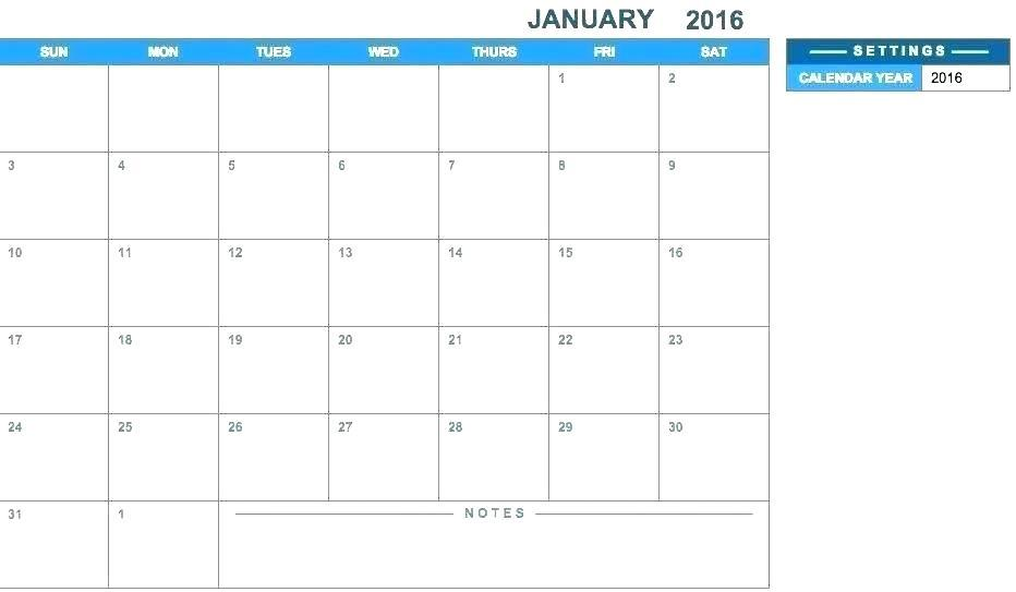 Employee Holiday Schedule Template 2018