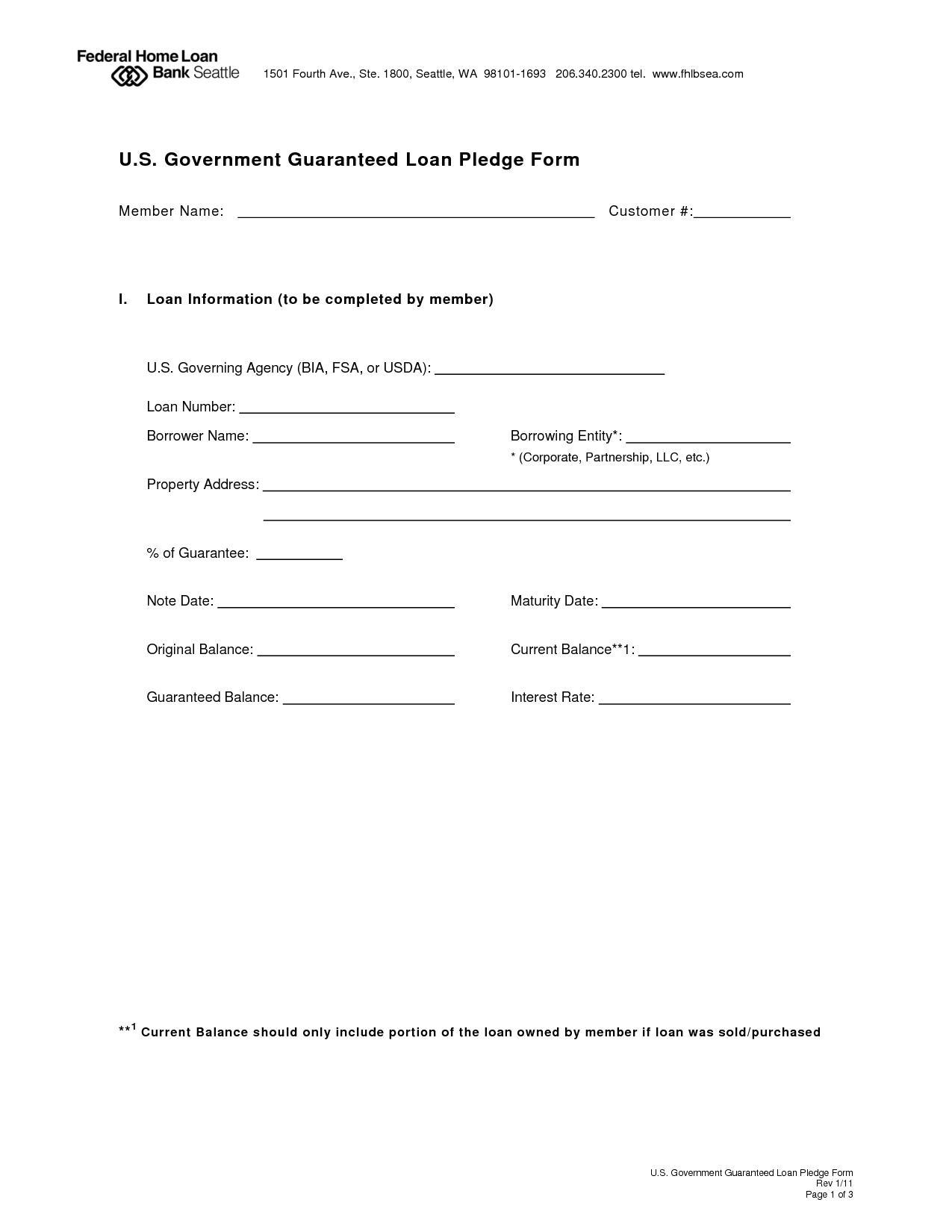 Employee Loan Repayment Agreement Template