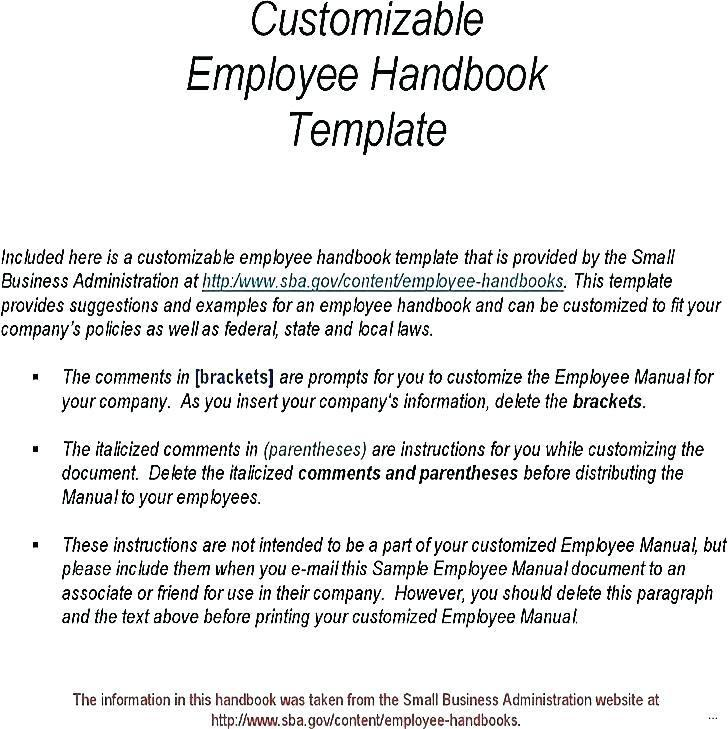 Employee Manual Sample Philippines