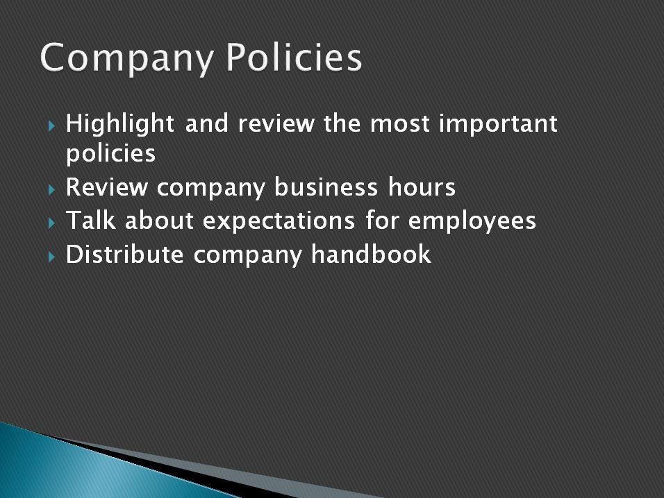 Employee Orientation Template Powerpoint