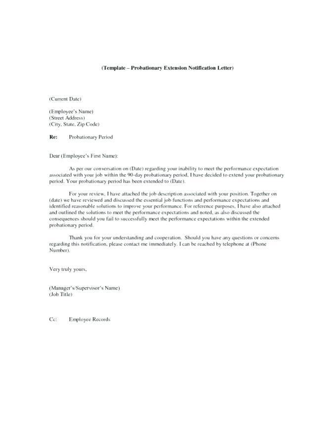 Employee Probation Confirmation Letter Template