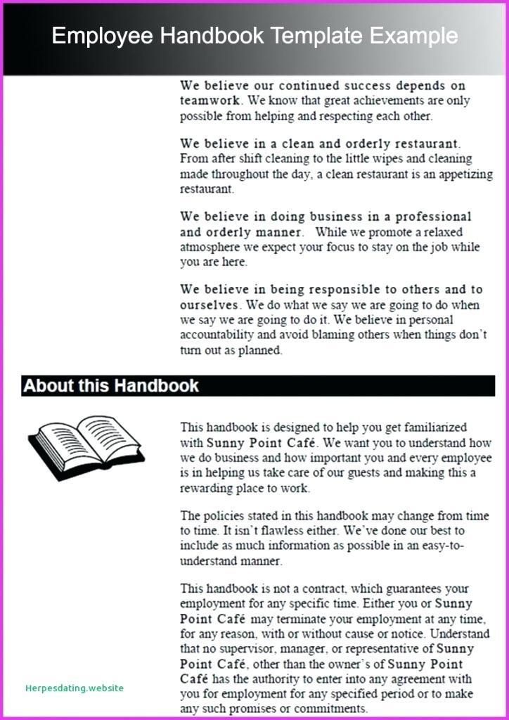Employee Training Manual Examples