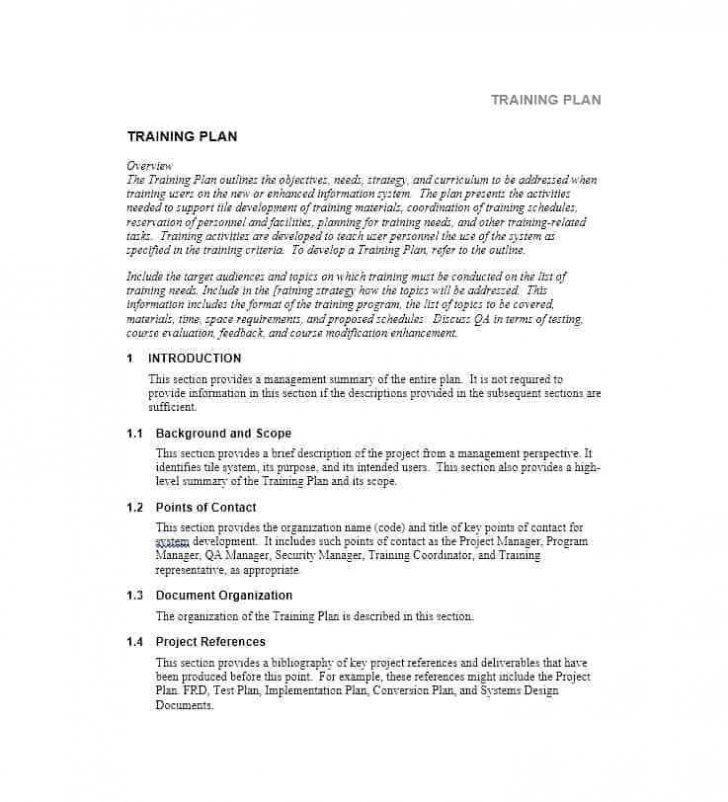 Employee Training Manual Sample