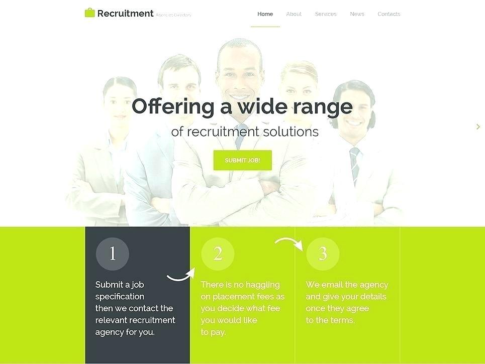 Employment Agency Website Template
