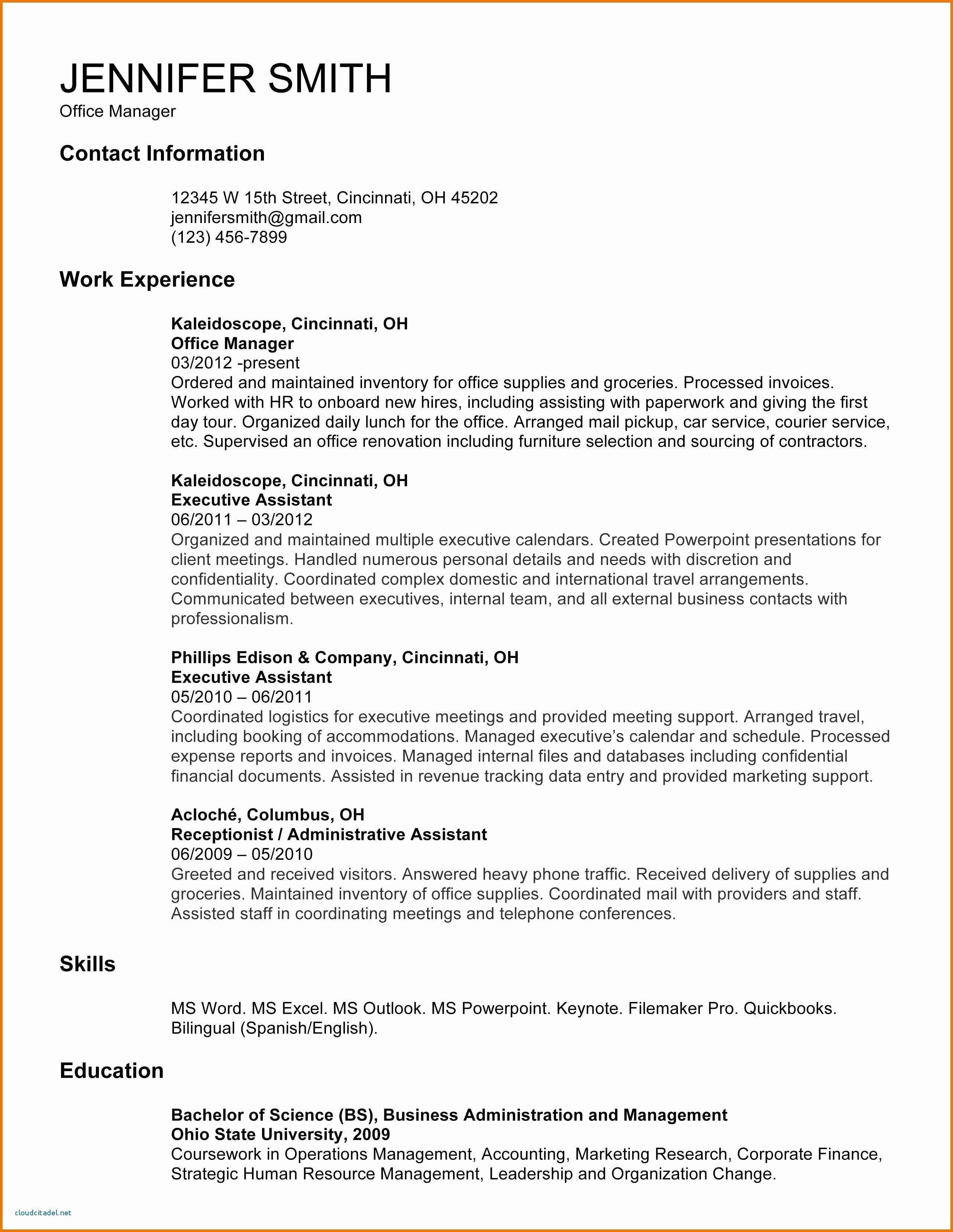End Of Employment Contract Letter Template