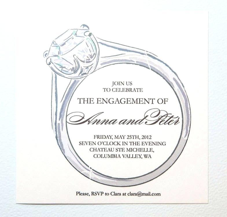 Engagement Invitation Card Templates Free Download