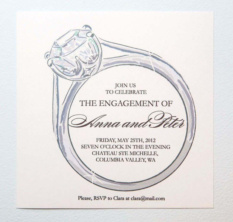 Engagement Invitation Templates Download