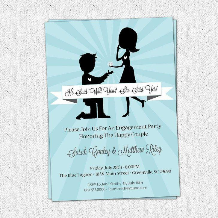Engagement Invitation Templates Free Online