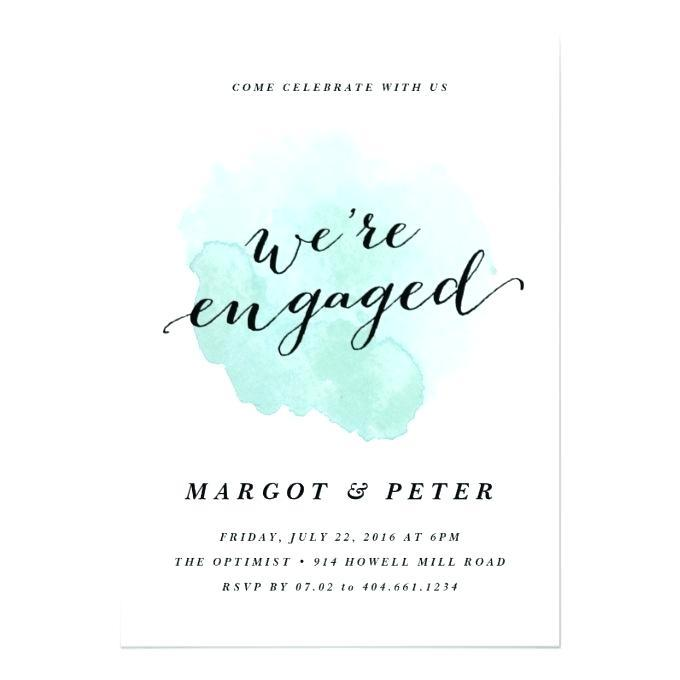 Engagement Invitation Templates Indian