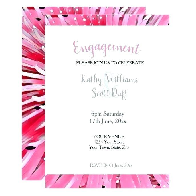 Engagement Invitation Templates Photoshop