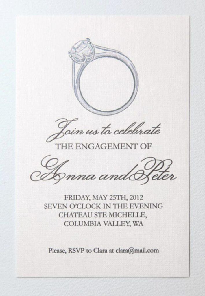 Engagement Invite Templates